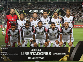 Atlético-MG é o melhor brasileiro no ranking da Copa Libertadores