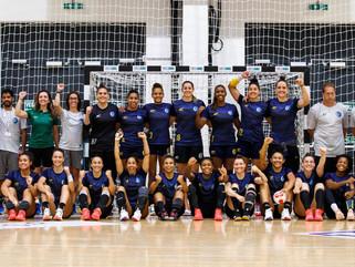 Seleção feminina de handebol bate Montenegro em amistoso pré-Tóquio