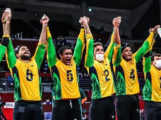 Seleção masculina do Brasil vence China e conquista ouro inédito no goalball