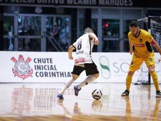 Corinthians e Magnus empatam no primeiro jogo da final da LNF