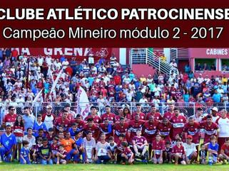 Patrocinense é o campeão Mineiro do Módulo II 2017