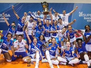 Itambé/Minas vence Dentil/Praia Clube e é campeão da Superliga