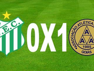 Uberlândia 0 x 1 Aparecidense - Camaleão vence fora e larga em vantagem