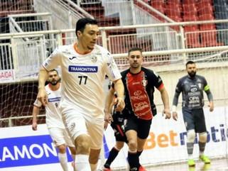 Joinville e ACBF empatam na Liga Nacional de Futsal 2021