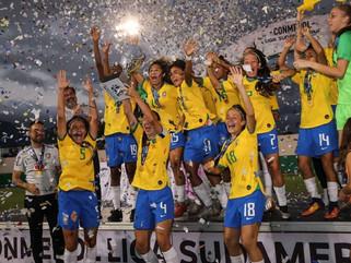 Seleção Brasileira Feminina Sub-20 vence a Venezuela e fatura título da Liga Sul-Americana