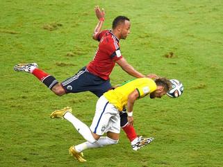 Neymar se lembra de lesão de 2014