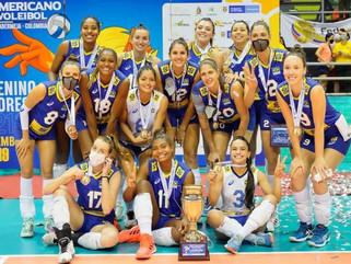Brasil é campeão pela 22ª vez do Sul-Americano