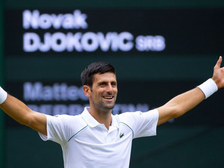 Djokovic é 1º classificado ao ATP Finals após triunfo em Wimbledon