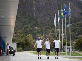 Seleção Brasileira de Futsal encerra ciclo de preparação na Granja Comary