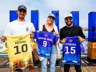 Surfe: janela de competições do WSL Finals começa com Brasil favorito
