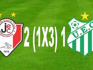 Joinville 2 ( 1 x 3 ) 1 Uberlândia - Nos pênaltis, Verdão se classifica para as quartas de final