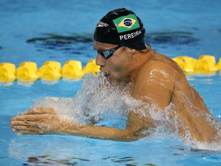 Antes de final olímpica no Rio, Thiago Pereira agradece rivais Michael Phelps e Ryan Lochte