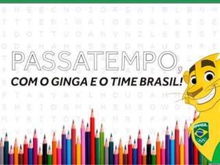 Após sucesso com livro de colorir, COB lança o Passatempo do Time Brasil