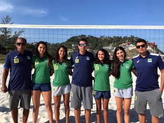 Brasil define duplas para o Mundial Sub-19 feminino