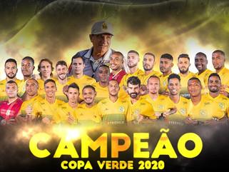Brasiliense vence Remo nos pênaltis e conquista a Copa Verde 2020