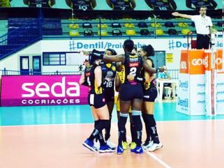 Dentil/Praia Clube vence São Paulo/Barueri e está na semifinal da Copa Brasil