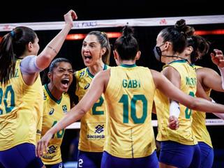 Seleção feminina vence Japão e está na final da Liga das Nações