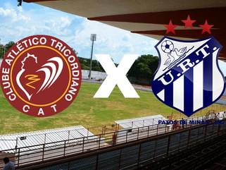 Em jogo de portões fechados, Tricordiano e URT buscam vitória no Campeonato Mineiro