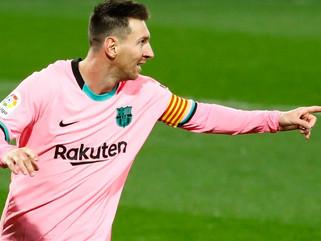 Lionel Messi passa marca de gols de Pelé por um mesmo clube em jogos oficiais
