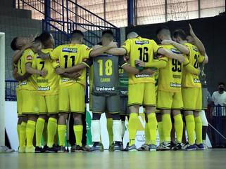 Futsal Praia Clube empata com Magnus nas oitavas de final da Liga Nacional de Futsal