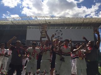 São Paulo conquista o terceiro título da Taça BH