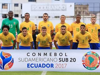 Brasil Sub-20 vence o Paraguai pelo Sul-Americano