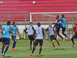 Tupi empata em casa no último teste antes do Campeonato Mineiro