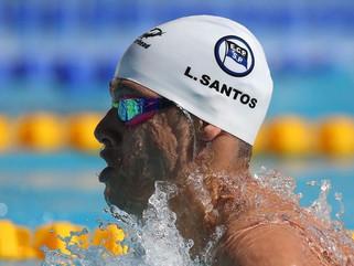 Leonardo Santos bate recorde sul-americano dos 200 medley na Hungria