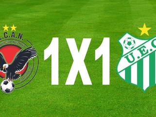 Águia Negra 1 x 1 Uberlândia - Empate ruim para os dois