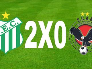 Uberlândia 2 x 0 Águia Negra – Verdão vence e assume vice-liderança