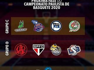 Campeonato Paulista de Basquete adulto masculino chega à segunda fase