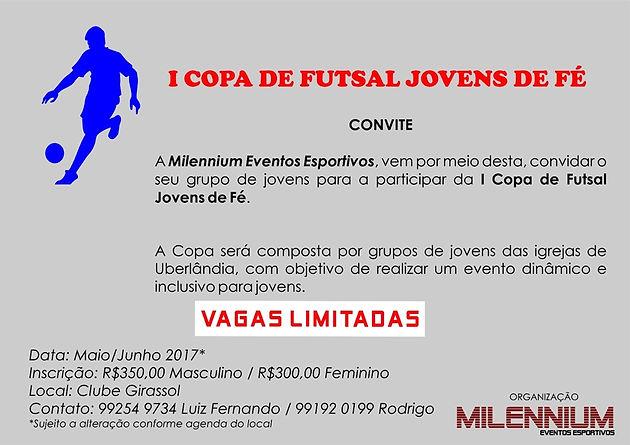 1ª Copa de Futsal Jovens de Fé 2017 (Foto  Crédito Rodrigo Inácio) d335df7f4a4b0