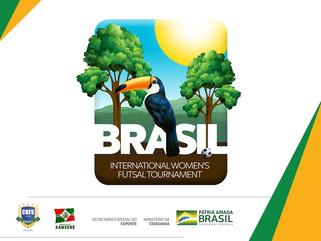 Brasil será sede do Torneio Mundial Feminino de Futsal 2020