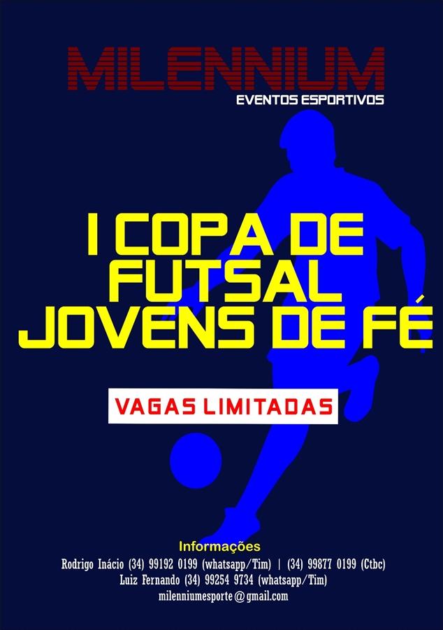 Vem aí a 1ª Copa de Futsal Jovens de Fé  fb90185396576