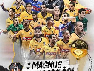 Magnus vence Corinthians e é bicampeão da Liga Nacional de Futsal