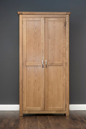 MANHATTAN OAK 2DOOR WARDROBE