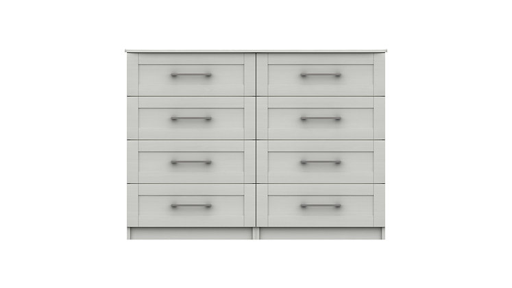 ANDANTE RANGE 4 DRAWER DOUBLE CHEST