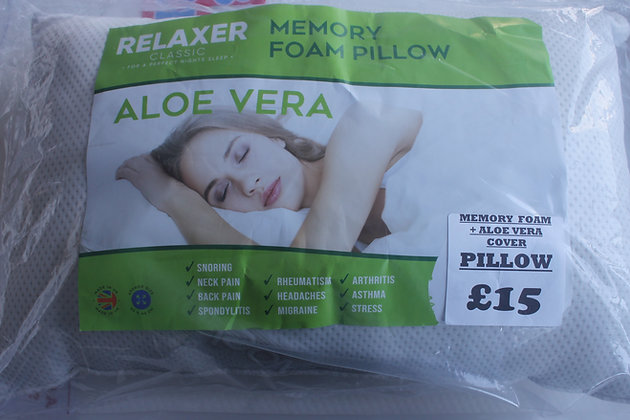 Aloe Vera Pillow