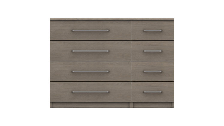 MINNESOTA RANGE  4 DRAWER DOUBLE CHEST
