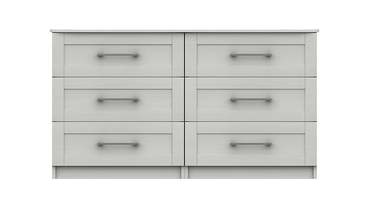 ANDANTE RANGE 3 DRAWER DOUBLE CHEST