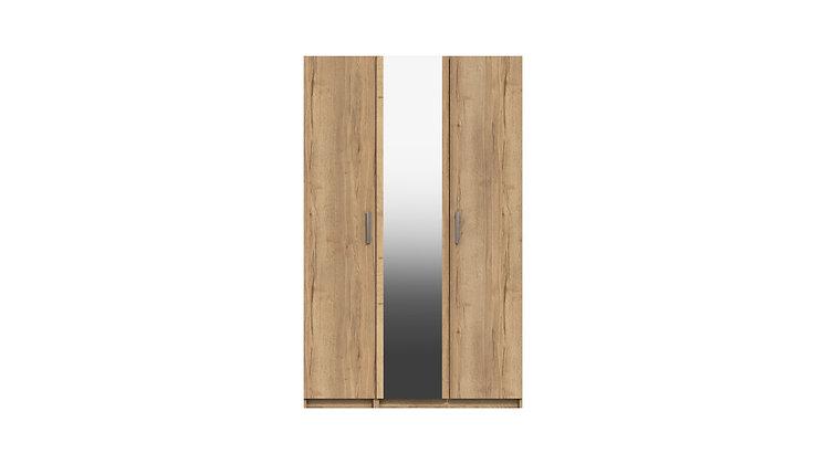 WATERFALL RANGE 3 DOOR  WARDROBE WITH MIRROR