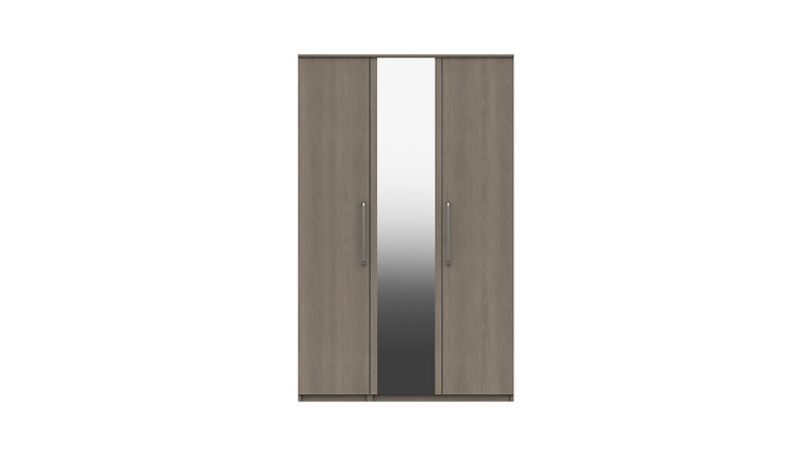 MINNESOTA RANGE 3 DOOR  WARDROBE WITH MIRROR