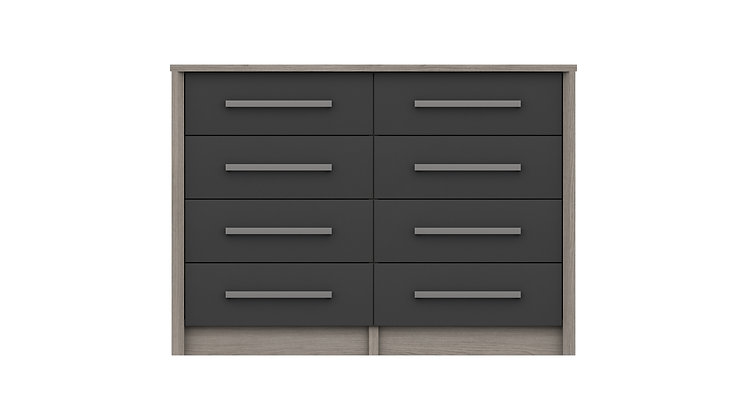 ARUNDEL RANGE 4 DRAWER DOUBLE CHEST