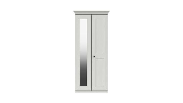 HADLEIGH RANGE 2 DOOR WARDROBE WITH MIRROR