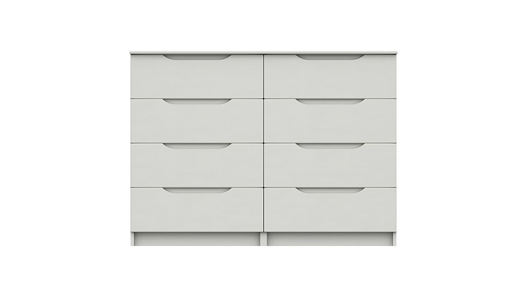 SONATA RANGE  4 DRAWER DOUBLE CHEST