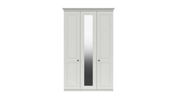 HADLEIGH RANGE TALL  3 DOOR WARDROBE WITH MIRROR