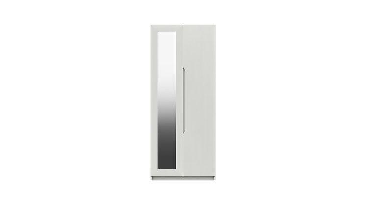 SONATA RANGE  2 DOOR WARDROBE WITH MIRROR