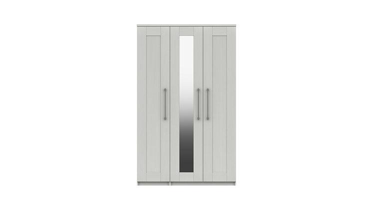 ANDANTE RANGE 3 DOOR WARDROBE WITH MIRROR