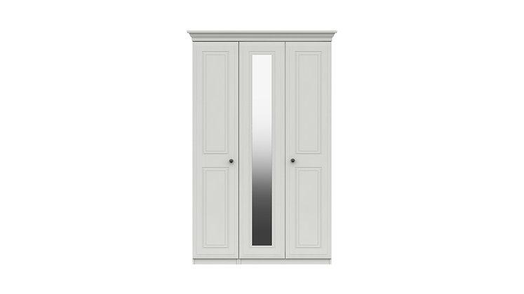 HADLEIGH RANGE 3 DOOR WARDROBE WITH MIRROR