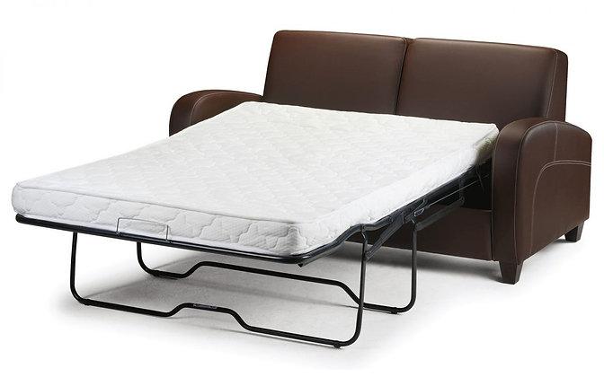 VIVO FAUX LEATHER SOFA BED